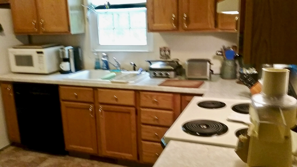 kitchen before remodeling