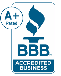 BBB Accredited Business A+Rated