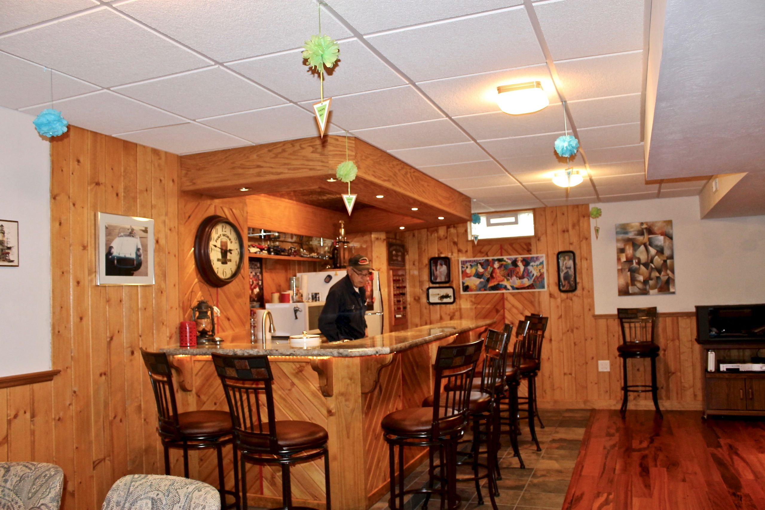 Basement Bar After