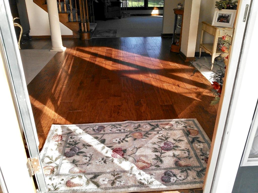 Hardwood floor after