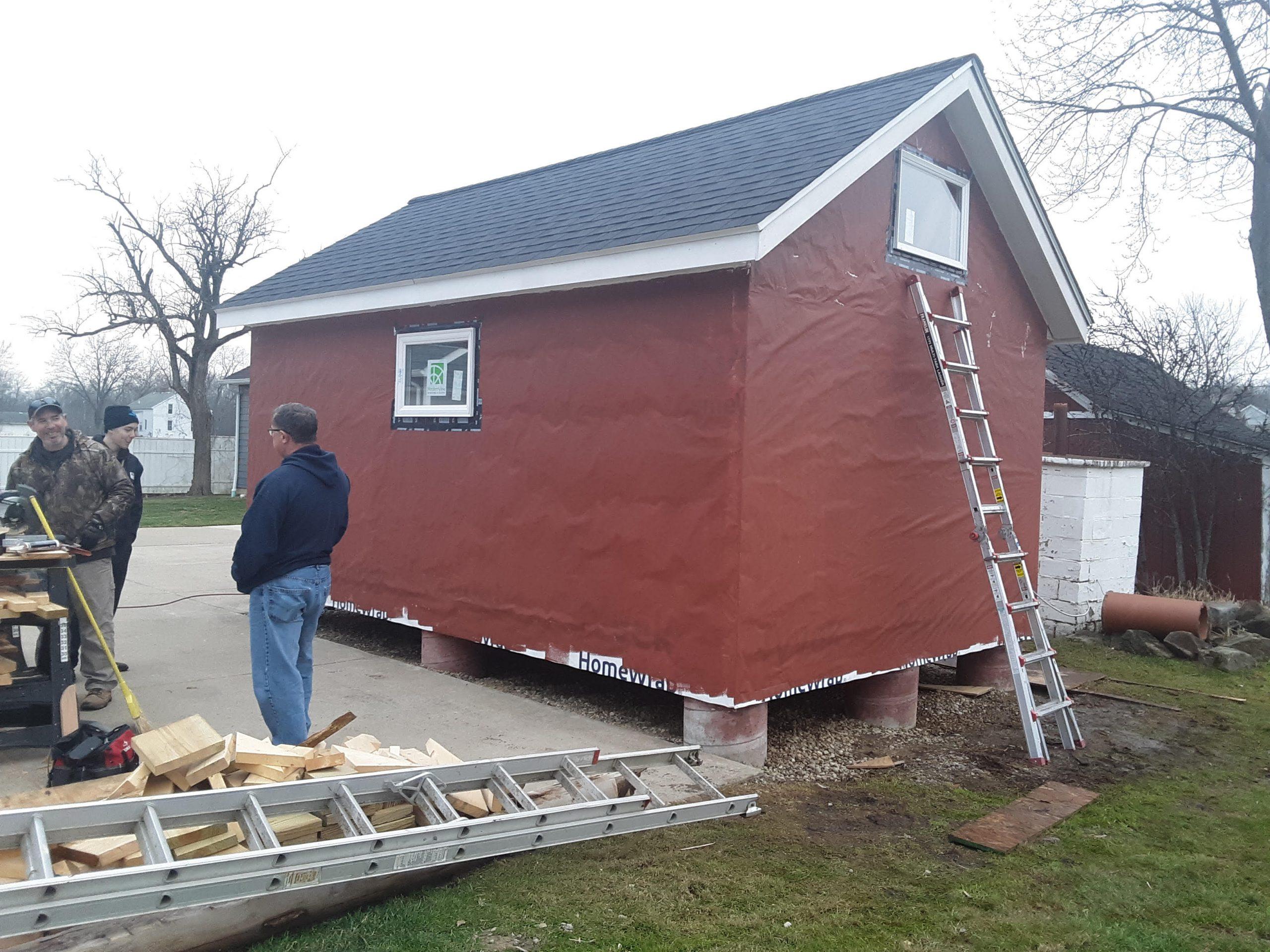 kemper shed sealed up